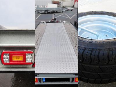 Silverstone comfort pakket: aluminium tranenplaat, LED verlichting, reservewiel