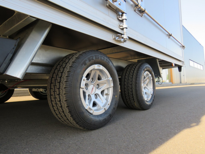 Silverstone alumium wielen, tandemas