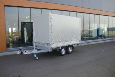 Anssems huif met zeil - grijs - 160 cm hoog (binnenwerks)