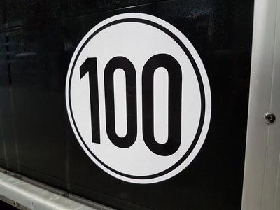 100 km uitvoering Duitsland (incl Schokbrekers)