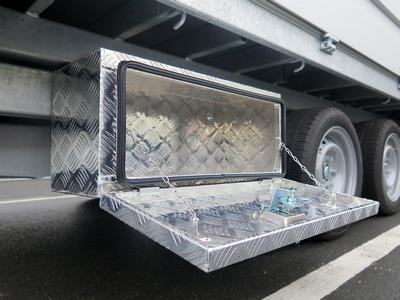 Aluminium gereedschapskist (onderbouw)