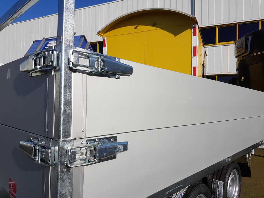 Set aluminium opzetborden 30 cm hoog Easyline