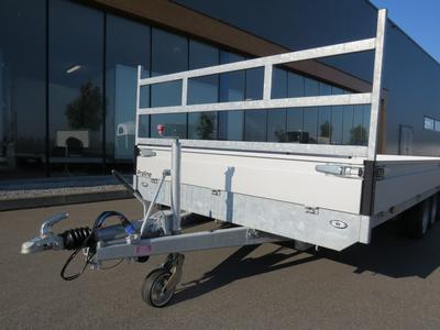Koprek/voorrek  plateauwagen