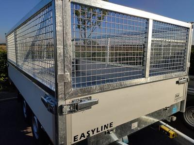 loofrekken Easyline kipper 60 cm hoog alleen achterzijde te openen