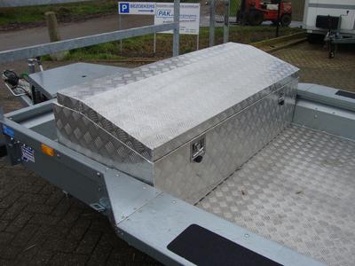 Aluminium opbergkist groot 150cm breed