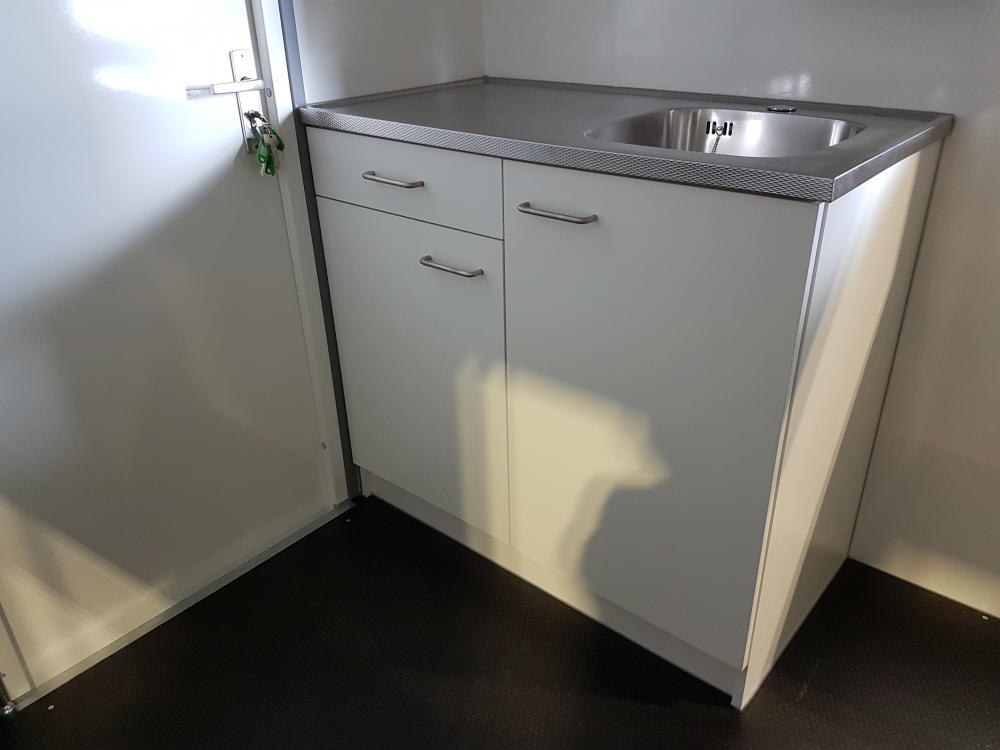 Keukenblok 120x60cm schaftaanhangwagen