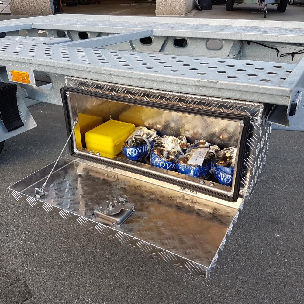 Aluminium gereedschapskist (onderbouw transporto))