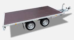 Easyline vlakke wagen zonder borden