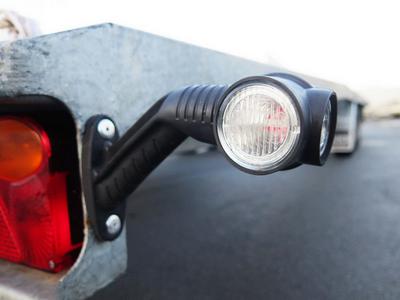Contourlampen LED achter op rubber console