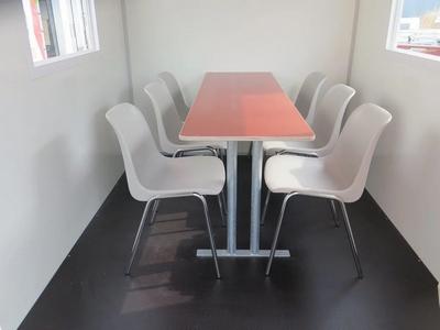 Losse stoelen, 6 stuks