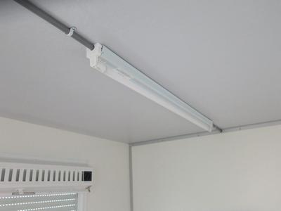 Elektrische LED verlichting in 1 ruimte met 1 wandcontactdoos